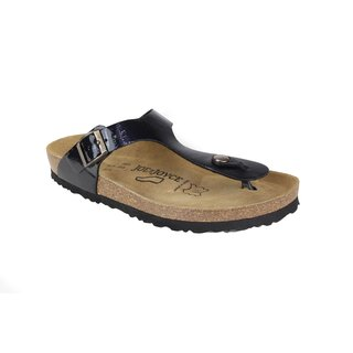 JOE N JOYCE Milano Synsoft Soft-Fußbett Sandalen Hammerschlag Dark Blue Größe 36 Normal Ojk4iu9of