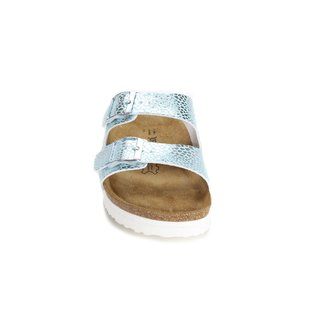 JOE N JOYCE London SynSoft Soft-Footbed Leometallic