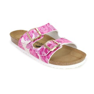 JOE N JOYCE London SynSoft Soft-Footbed Metallic Roses